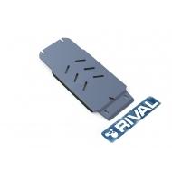"""Защита алюминиевая """"Rival"""" для КПП Infiniti G 25 2010-2013. Артикул: 333.2407.1"""