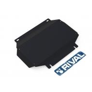 "Защита ""Rival"" для картера (часть 2) Mitsubishi Delica IV 1994-2007. Артикул: 111.4023.1"