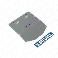 "Защита алюминиевая ""Rival"" для картера и КПП Ford Transit RWD 2007-2014. Артикул: 333.1817.1"