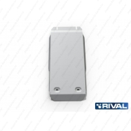 "Защита алюминиевая ""Rival"" для КПП Chrysler 300C II 2012-2014. Артикул: 333.1102.1"