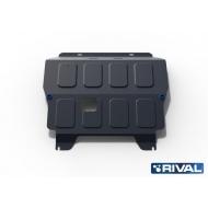 "Защита ""Rival"" для картера и КПП Chevrolet Aveo T250 2008-2012. Артикул: 111.1001.2"