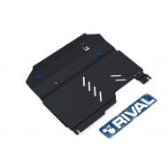 """Защита """"Rival"""" для картера и КПП Chevrolet Captiva I 2006-2011. Артикул: 111.1002.2"""