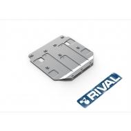 "Защита алюминиевая ""Rival"" для картера Land Rover Range Rover Velar 2017-2020. Артикул: 333.2601.1"