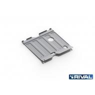 "Защита алюминиевая ""Rival"" для картера и КПП Hyundai Sonata VI 2010-2013. Артикул: 333.2320.2"