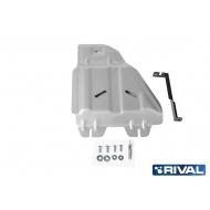 """Защита алюминиевая """"Rival"""" для РК Lexus LX 2008-2020. Артикул: 333.9508.1"""