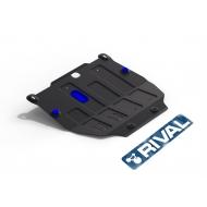 """Защита """"Rival"""" для картера и КПП Opel Mokka 2012-2016. Артикул: 111.4209.1"""