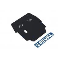 """Защита """"Rival"""" для картера и КПП Chrysler Sebring II 2001-2006. Артикул: 111.6201.1"""