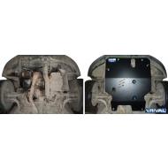 """Защита """"Rival"""" для картера и КПП Mitsubishi Galant VIII 4WD 1996-2005. Артикул: 111.4029.1"""