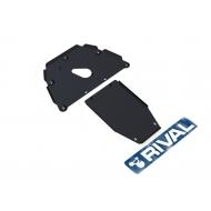 """Защита """"Rival"""" для картера и КПП BMW 7-series E65, E66 2001-2008. Артикул: 111.0520.1"""
