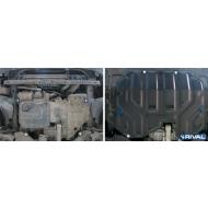 """Защита """"Rival"""" для картера и КПП (увеличенная) Hyundai ix35 2010-2015. Артикул: 111.2323.2"""