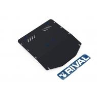 """Защита """"Rival"""" для картера и КПП Ford Transit III RWD 2007-2014. Артикул: 111.1817.1"""