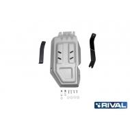 "Защита алюминиевая ""Rival"" для редуктора Hyundai Tucson 4WD 2015-2020. Артикул: 333.2359.1"