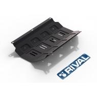 "Защита ""Rival"" для радиатора Mitsubishi Pajero Sport II 2008-2016. Артикул: 111.4005.1"