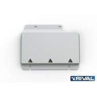 "Защита алюминиевая ""Rival"" для картера Ford Ranger IV 2012-2015. Артикул: 333.1830.1"