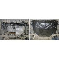 """Защита """"Rival"""" для картера и КПП Ford Kuga I 2008-2013. Артикул: 111.1850.1"""