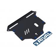 """Защита """"Rival"""" для картера и КПП Honda CR-V II 2002-2006. Артикул: 111.2110.1"""