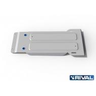"""Защита алюминиевая """"Rival"""" для КПП Hyundai Equus II 2009-2020. Артикул: 333.2332.1"""