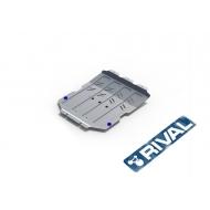 "Защита алюминиевая ""Rival"" для картера Maserati Levante 2016-2017. Артикул: 333.3601.1"