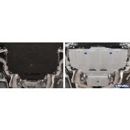 """Защита алюминиевая """"Rival"""" для КПП Bentley Bentayga 2016-2020. Артикул: 333.0402.1"""