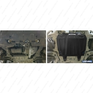 "Защита ""Rival"" для картера и КПП (увеличенная) Citroen C-Crosser 2007-2013. Артикул: 111.4016.3"