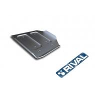 "Защита алюминиевая ""Rival"" для РК Infiniti Q50 2013-2020. Артикул: 333.2419.1"