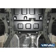 """Защита """"Rival"""" для электродвигателя рулевой рейки Man TGE 3.180 МКПП FWD 2017-2020. Артикул: 111.5859.1"""