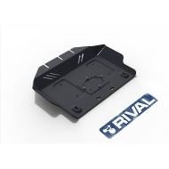 """Защита """"Rival"""" для картера Lexus GX 460 II 2009-2020. Артикул: 222.5784.1"""