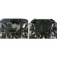 """Защита """"Rival"""" для картера и КПП Renault Sandero Stepway I, II 2005-2014 2013-2020. Артикул: 111.6027.1"""