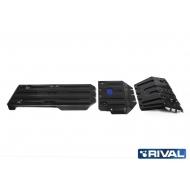 """Защита """"Rival"""" для радиатора, картера, КПП и РК Lexus GX 460 II 2009-2020. Артикул: K111.9516.1"""