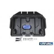 """Защита """"Rival"""" для картера Lexus GX 460 II, II 2009-2020. Артикул: 111.5784.1"""