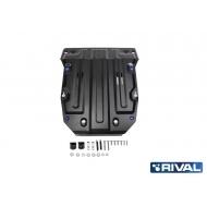 """Защита """"Rival"""" для картера Porsche Cayenne II, II 2010-2014 2014-2018. Артикул: 111.5824.2"""