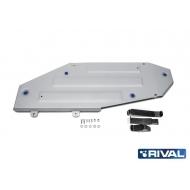 """Защита алюминиевая """"Rival"""" для топливного бака Lexus LX 2015-2020. Артикул: 333.9515.1"""