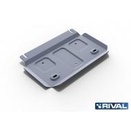 """Защита алюминиевая """"Rival"""" для РК Foton Sauvana 4WD 2017-2020. Артикул: 333.4404.1"""