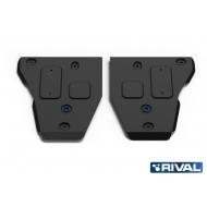 """Защита """"Rival"""" для топливного бака Opel Mokka 2012-2016. Артикул: 111.4211.1"""