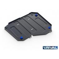 """Защита """"Rival"""" для топливного бака Lifan X70 FWD 2018-2020. Артикул: 111.3319.1"""