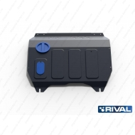 "Защита ""Rival"" для картера и КПП Changan CS35 АКПП FWD 2014-2020. Артикул: 111.8901.1"