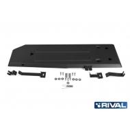 """Защита """"Rival"""" для топливного бака Ford Ranger III 2012-2015. Артикул: 222.1845.1"""