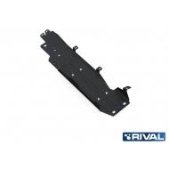 """Защита """"Rival"""" для топливного бака Jeep Wrangler JK внедорожник 4-дв. АКПП 2007-2018. Артикул: 222.2724.1"""