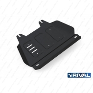 """Защита """"Rival"""" для РК Isuzu D-Max II 2012-2020. Артикул: 222.9104.1"""