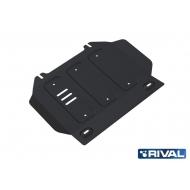 """Защита """"Rival"""" для картера Isuzu D-Max II 2012-2020. Артикул: 222.9102.1"""