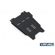 """Защита """"Rival"""" для КПП Isuzu D-Max II 2012-2020. Артикул: 222.9103.1"""
