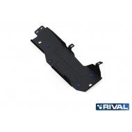 """Защита """"Rival"""" для топливного бака Jeep Wrangler JK внедорожник 2-дв. АКПП 2007-2018. Артикул: 222.2721.1"""