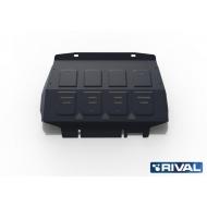 "Защита ""Rival"" для радиатора Ford Ranger III 2012-2015. Артикул: 222.1841.1"