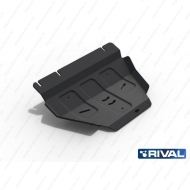 "Защита ""Rival"" для РК Ford F-150 XIII 2014-2018 2017-2020. Артикул: 222.1858.1"