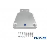 """Защита алюминиевая """"Rival"""" для редуктора Ford Kuga 2013-2020. Артикул: 333.1869.1"""
