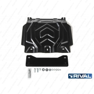 "Защита ""Rival"" для картера Mitsubishi Pajero Sport III 2016-2020. Артикул: 222.4041.2"
