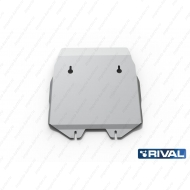 "Защита алюминиевая ""Rival"" для картера Chrysler 300C II 2012-2014. Артикул: 333.1101.1"