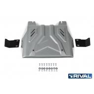 "Защита алюминиевая ""Rival"" для РК Fiat Fullback 2016-2020. Артикул: 333.4048.2"