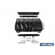 "Защита ""Rival"" для радиатора Mitsubishi Pajero Sport III 2016-2020. Артикул: 222.4046.2"