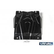 "Защита ""Rival"" для КПП Mitsubishi Pajero Sport III 2016-2020. Артикул: 111.4047.2"
